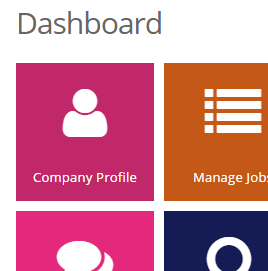 Employer Account Control Panel